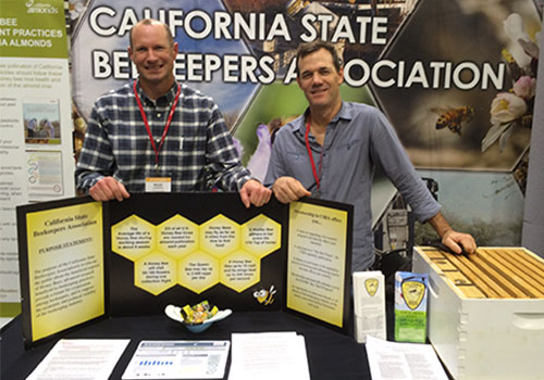 CSBA Booth at the Almond Conference